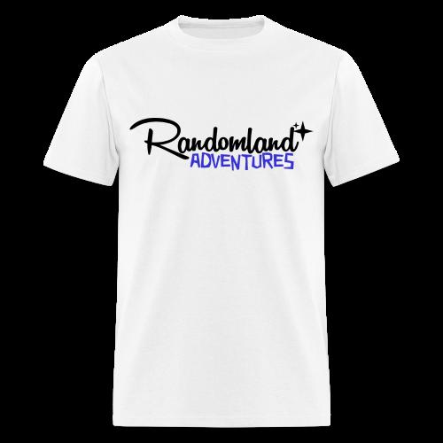 RANDOMLAND ADVENTURES (BLACK)  - Men's T-Shirt