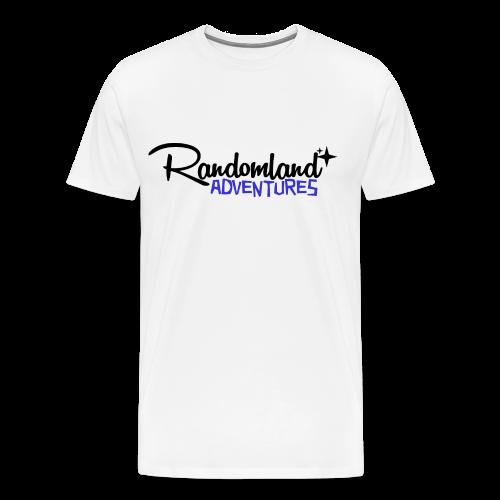 RANDOMLAND ADVENTURES (BLACK) premium / plus sizes - Men's Premium T-Shirt