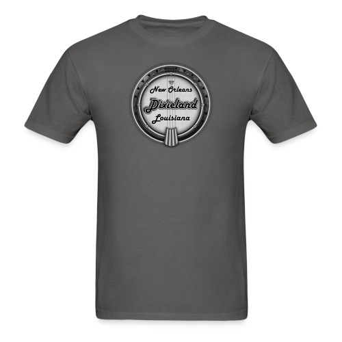 Vintage Dixieland Banjo - Men's T-Shirt