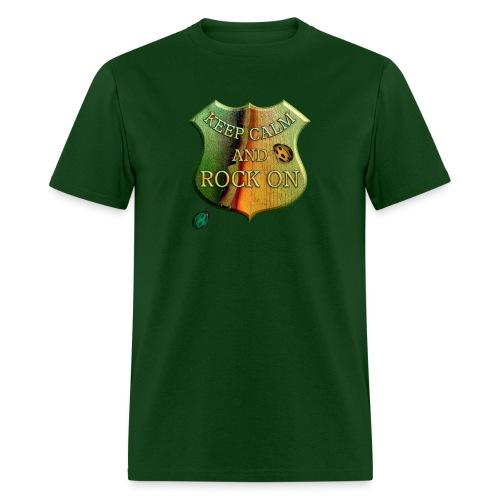 rock on - Men's T-Shirt