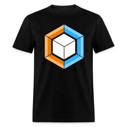 Hexagon_Cube - Men's T-Shirt