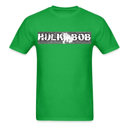 HulkBob Tee 01 Gildan Or Fruit OF The Loom - Men's T-Shirt