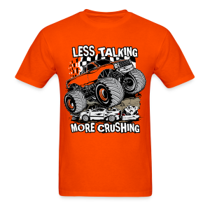 Moster Truck Crush - Men's T-Shirt