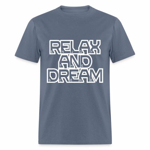 Enjoy the Dream Men's T-shirt (white) - Men's T-Shirt