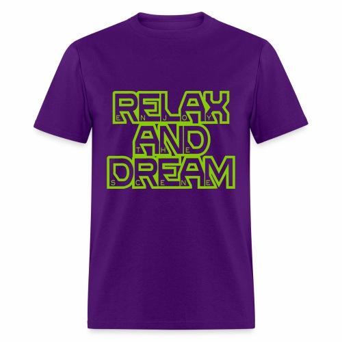 Enjoy the Dream Men's T-shirt (apple green) - Men's T-Shirt