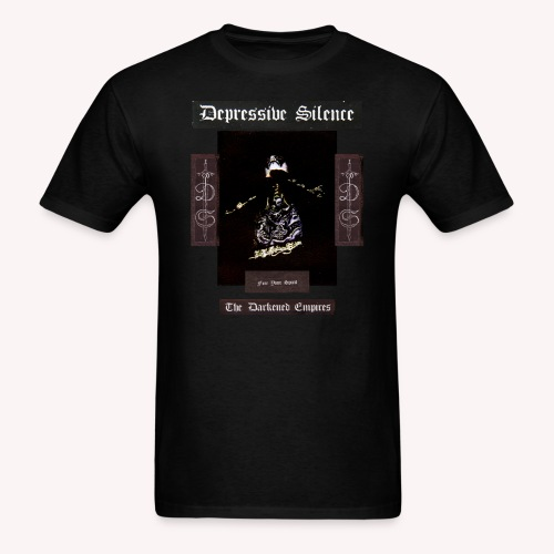 Depressive Silence - The Darkened Empires - Men's T-Shirt