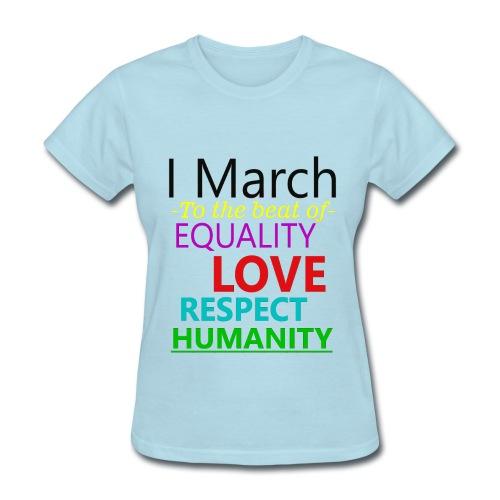 I March Gildan t-shirt - Women's T-Shirt
