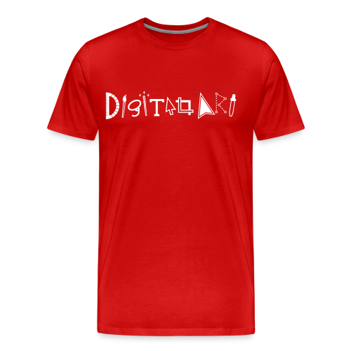 Digital Art Smart (Men's Premium Shirt) - Men's Premium T-Shirt