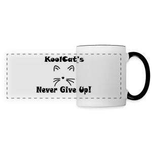 PrettyKoolCat Plays Outline Mug - Panoramic Mug