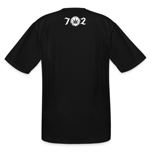 702 logo back - Men's Tall T-Shirt