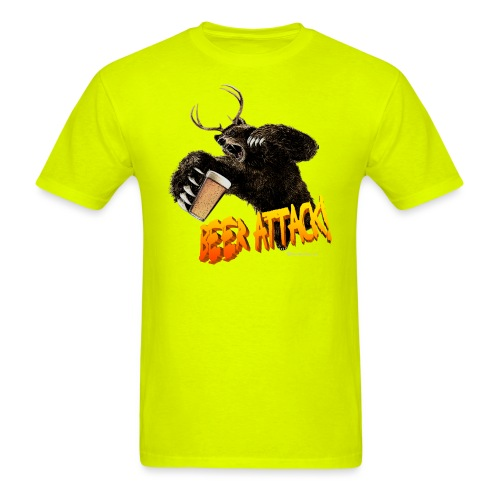 BEER ATTACK! Men's T-Shirt - Men's T-Shirt