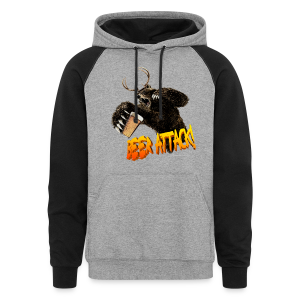 BEER ATTACK! Colorblock Hoodie - Colorblock Hoodie