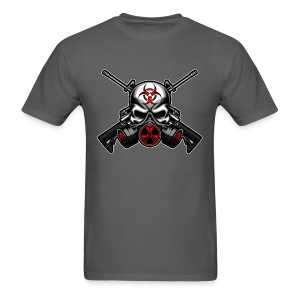 Skull and Guns - Men's T-Shirt