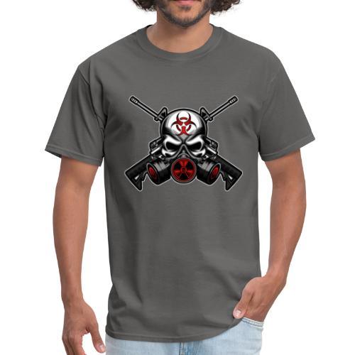 Skull and Guns - Men's T-Shirt