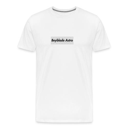 Designer Box Logo Tee - Men's Premium T-Shirt