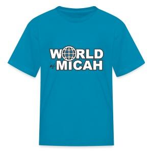 WOM TEXT KIDS BASIC  - Kids' T-Shirt