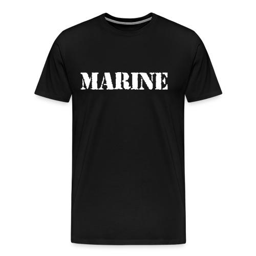 Badass Marine - Men's Premium T-Shirt