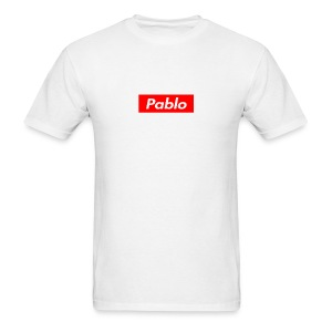 Pablo Box - White - Men's T-Shirt