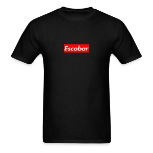 Escobar Box - Black - Men's T-Shirt