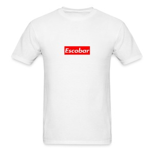 Escobar Box - White - Men's T-Shirt