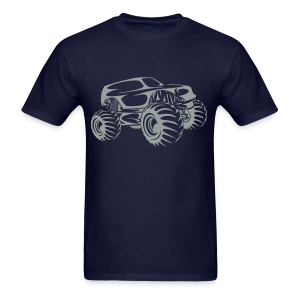 Monster Truck Abstract - Men's T-Shirt