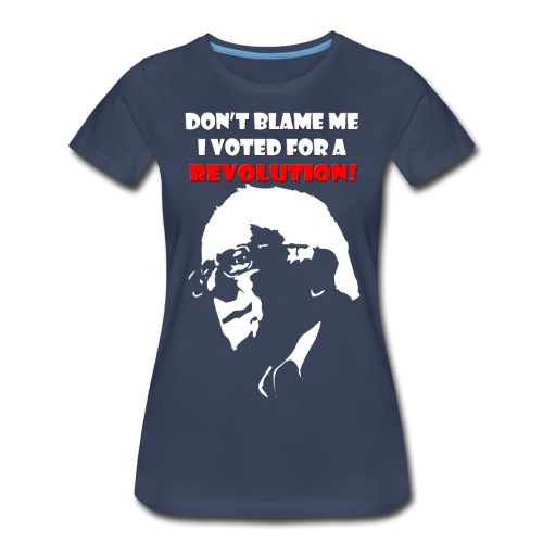 Women's Bernie Premium - Women's Premium T-Shirt