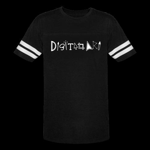 Digital Art Smart (Men's Vintage Sports Shirt) - Vintage Sport T-Shirt