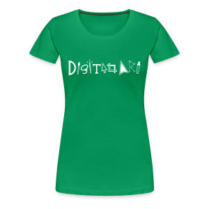 Digital Art Smart (Women's Permium Shirt) - Women's Premium T-Shirt