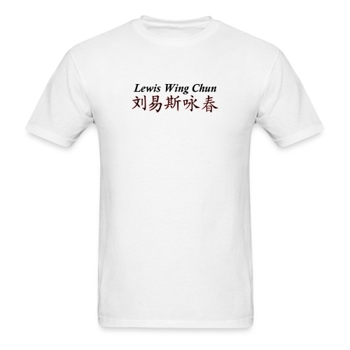 LWC shirt with Full Characters - Men's T-Shirt