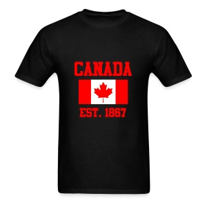 Canada Flag Day T-Shirts - Men's T-Shirt