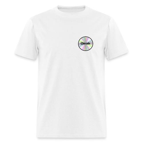 Rainbow Threads Black Outline - Men's T-Shirt