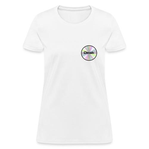 Woman's Rainbow Threads Black Outline T-Shirt - Women's T-Shirt