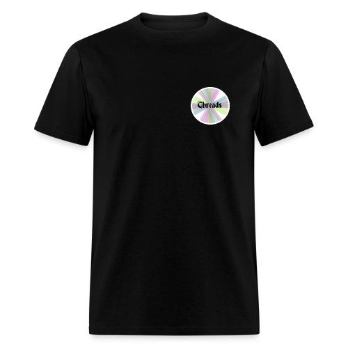 Men's Rainbow Threads White Outline T-Shirt - Men's T-Shirt
