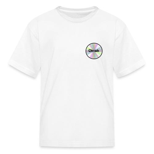 Kid's Rainbow Threads Black Outline T-Shirt - Kids' T-Shirt