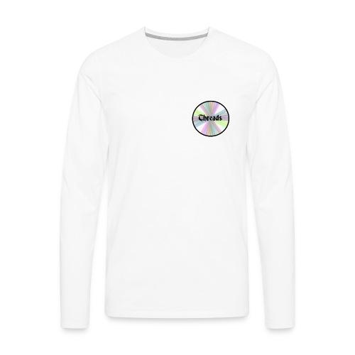 Men's Rainbow Threads Black Outline Long Sleeve - Men's Premium Long Sleeve T-Shirt