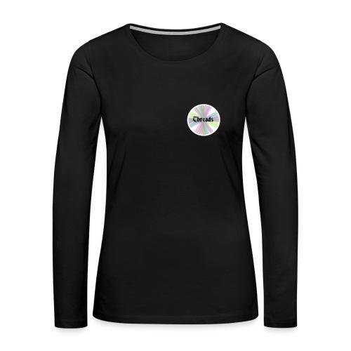 Women's Rainbow Threads White Outline Long Sleeve - Women's Premium Long Sleeve T-Shirt