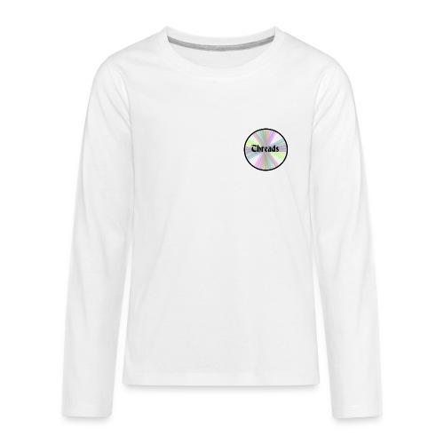 Kid's Rainbow Threads Black Outline Long Sleeve - Kids' Premium Long Sleeve T-Shirt