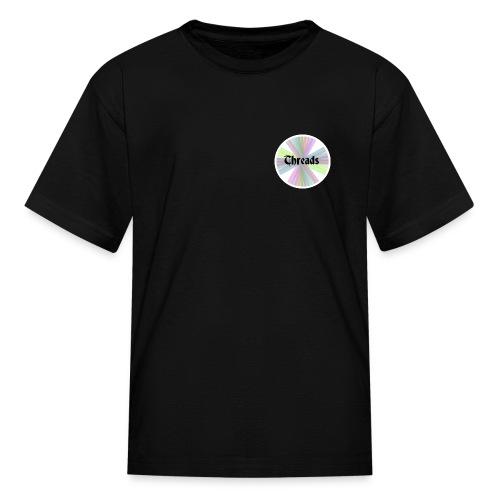 Kid's Rainbow Threads White Outline T-Shirt - Kids' T-Shirt