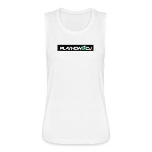 Playnow DJ Original - Women's Flowy Muscle Tank by Bella