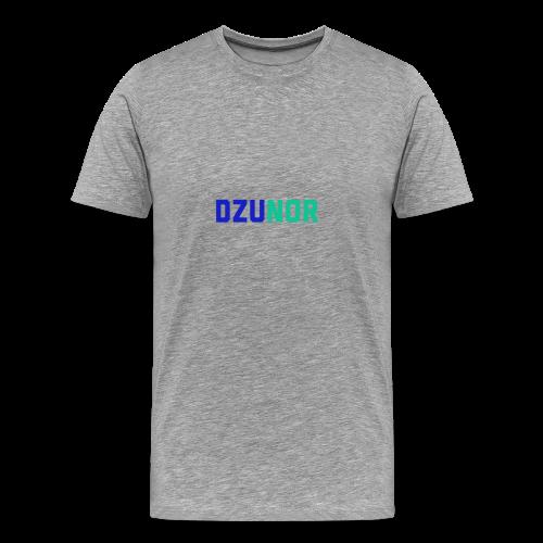 Dzunor Logo. Pilka. Man (Vyriškas) - Men's Premium T-Shirt