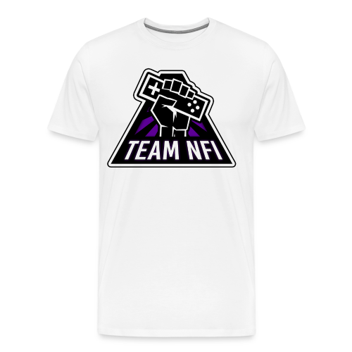 Team NFI T-Shirt (Customizable Name) - Men's Premium T-Shirt