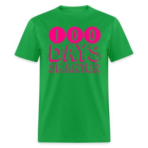 100th Day Of School NEON PINK - Men's T-Shirt