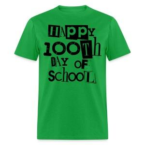 100th Day Of School  - Men's T-Shirt