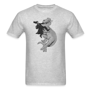 Punching A T-Rex Like A Boss Men's T-Shirt - Men's T-Shirt