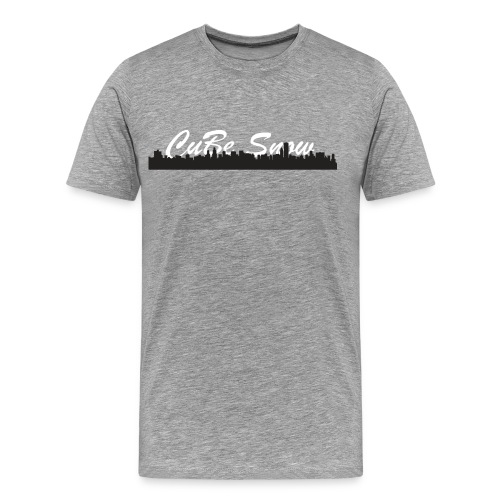Men's 2017 CuBe Snow Skyline T-Shirt - Men's Premium T-Shirt