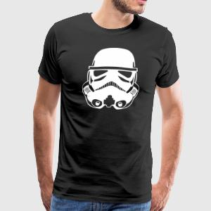Stormtrooper Helmet Vector SHIRT MAN - Men's Premium T-Shirt