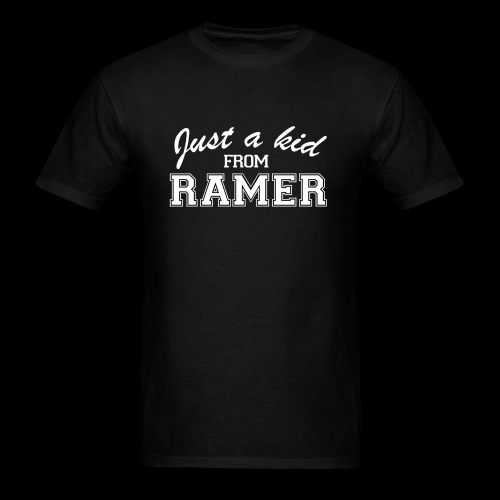 Just a Kid from Ramer - Men's T-Shirt
