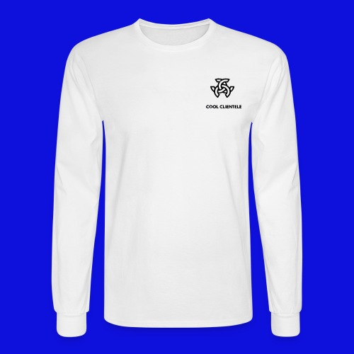 Cool Clientele Mini Logo Sweater (MENS) - Men's Long Sleeve T-Shirt