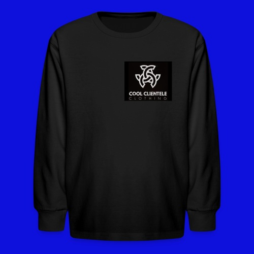 Black Mini Logo Sweater (MENS) - Kids' Long Sleeve T-Shirt