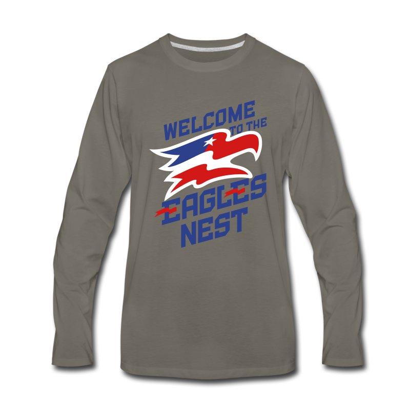Men's Eagles Nest Logo Long Sleeve Men's Premium Long Sleeve T ...
